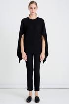 17k716 cape back knit black   31. small2