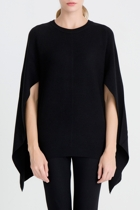 17k716 cape back knit black   3 small2