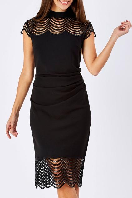 Knee Length Sequin Dress