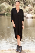 Long Sleeve Luxe Dress