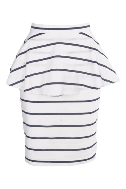 Morris Lined Cotton Skirt