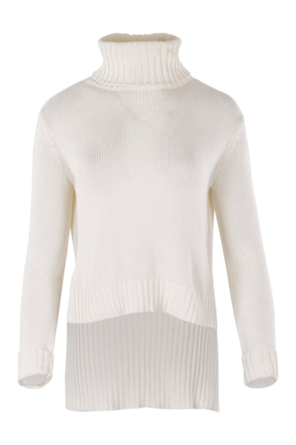 Roll Neck Split Me Side Ways Knit