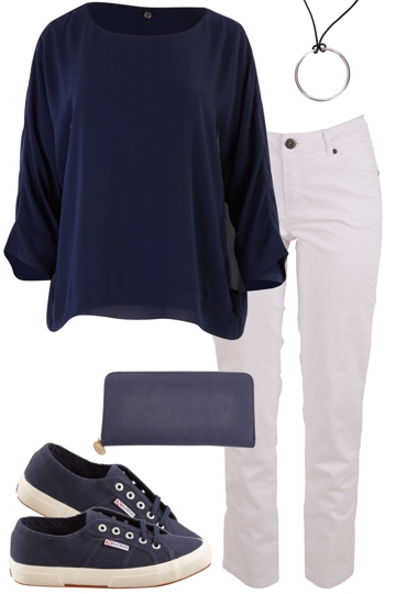 Relaxed Navy
