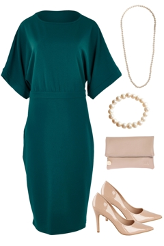 Elegant In Teal