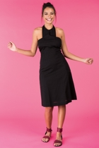 Kongo dress black small2