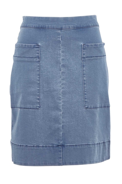 jag clothing asha denim skirt womens skirts