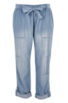 The Chambray Waist Tie Pant