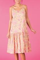 Elma dress peach small2