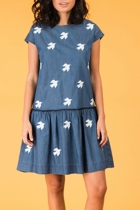 Posie dress denim small2