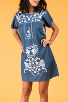 Selma dress denim small2