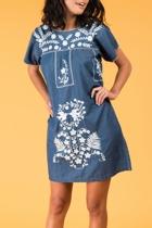 Selma dress denim small2