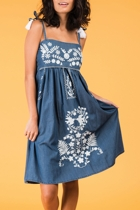 Catalina dress denim small2