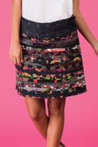 Apatchy skirt black small2