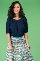 Bliss top blue cleo skirt block mixed small2