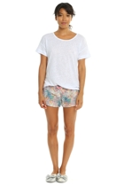 Bouquet boxers white linen tee 2 small2