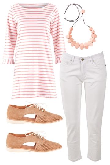 blushing stripes