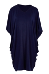 The Side Drape Batwing Dress