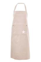 Holi star apron  taupe small2