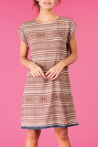 Aroha dress bark small2