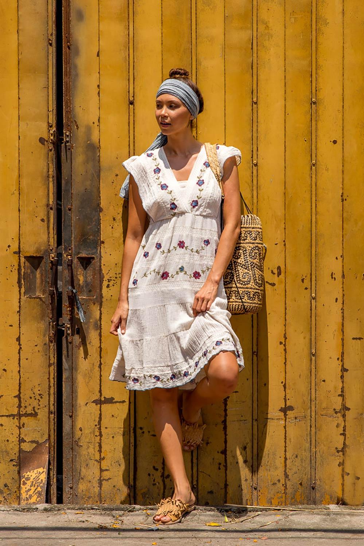 a530c588a7 Boom Shankar 50s dresses Senorita Dress - Womens Knee Length Dresses -  Birdsnest Clothing Online