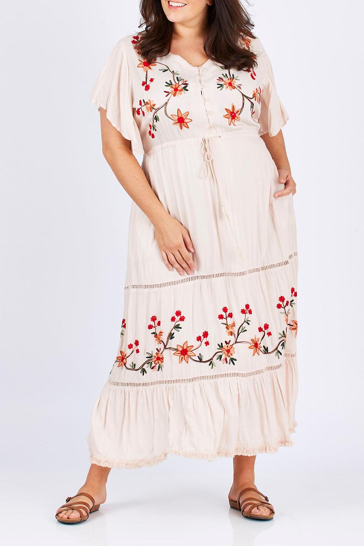 70s Dresses – Disco Dresses, Hippie Dresses, Wrap Dresses Kyoto Dress AUD 79.95 AT vintagedancer.com