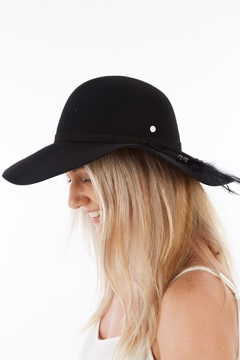 657c77402f Kooringal New Ever After Wide Brim Wool Felt Hat - Womens Felt Hats ...