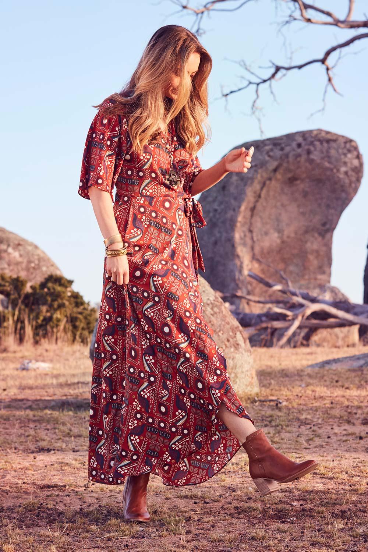 Vintage Dresses Australia- 20s, 30s, 40s, 50s, 60s, 70s Maximum Impact Dress AUD 99.95 AT vintagedancer.com