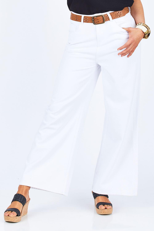 Vintage Dresses Australia- 20s, 30s, 40s, 50s, 60s, 70s Happy Me Wide Leg Jeans AUD 129.95 AT vintagedancer.com
