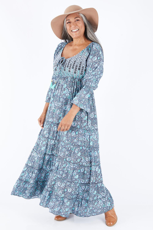 70s Dresses – Disco Dress, Hippie Dress, Wrap Dress Farrah Dress AUD 119.00 AT vintagedancer.com