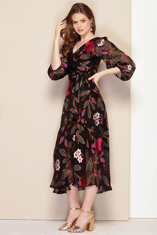 Vintage Dresses Australia – 20s, 30s, 40s, 50s, 60s, 70s Sarah Wrap Dress AUD 499.00 AT vintagedancer.com